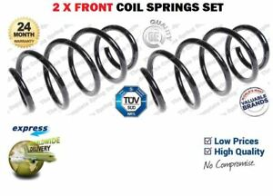 FOR HYUNDAI 54630-2L100 546302L100 NEW 2X FRONT COIL SPRINGS SET