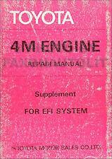 1979-1980 Toyota Supra Engine Repair Shop Manual 79 80