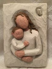 Willow Tree Mother And Child Wall Plaque Hanging Art Demdaco Susan Lordi 2001