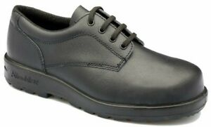 BLUNDSTONE LEATHER LACE UP SAFETY SHOES 608