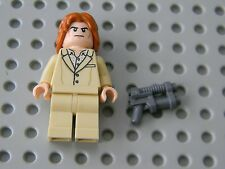 Lego Super Heroes - Lex Luthor minifigure with hairpiece and weapon - New!!