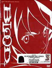 Blood + Plus  Part Two  (DVD, 5-Disc Set) Part 2 NEW