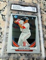 MOOKIE BETTS 2014 Bowman CHROME Rookie Card RC GEM MINT 10 Red Sox Dodgers HOT $