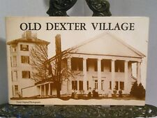 Old Dexter Village Michigan From Original Photographs Ann Arbor Illustrated RPPC
