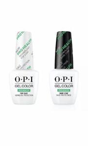OPI Gel Color Pro Health Top And Base Coat 15ml - 100% Genuine