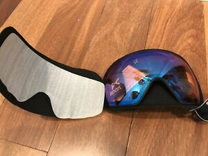 NEW Anon M4 Ski Snow Burton Sonar Blue Zeiss Replacement Lens Toric