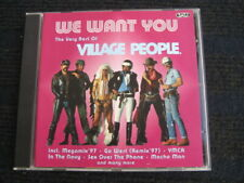 CD  VILLAGE PEOPLE  We want you  The very best of  13 Tracks  Sehr guter Zustand