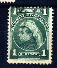 NEWFOUNDLAND - TERRANOVA - 1897-1901 - Regina Vittoria (1819 - 1901)