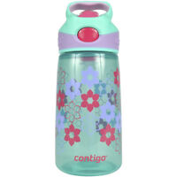 Contigo 14 oz. Kid's Striker Autospout Water Bottle - Ultramarine Lilies