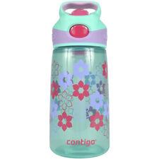 Contigo 14 oz. Kid's Striker Autospout Water Bottle - Ultramarine Lilies