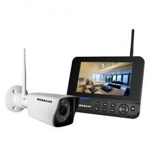Megasat HS 130 Kameraset IP Videoüberwachung Funk Überwachungssystem Full HD LAN