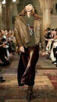 Ralph Lauren 50th Anniversary Runway Purple Label Velvet Long Maxi Dress Skirt 8