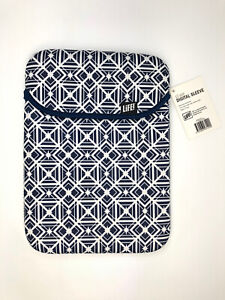 13 Inch Digital Sleeve For Ipad NEW With Tags Blue and White