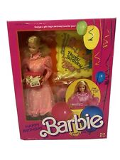 "NEW BARBIE 1984 SUPERSTAR ERA ""HAPPY BIRTHDAY"" PARTY GIFT SET - NRFB - SEALED"