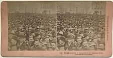 Columbian Exposition 1893 Chicago USA Photographie Stereo Vintage Albumine