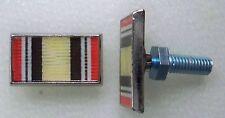 Iraq campaign ribbon license plate bolts, made in America!