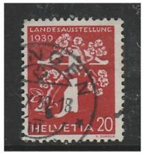 Switzerland - 1939, 20c National Exhibition (German) (Grill Gum) - G/U -SG 396Ga