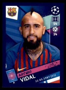 Topps Champions League 2018/19 - Arturo Vidal FC Barcelona No. 14
