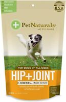 60 Soft Chews Pet Naturals Dog Hip and Joint Support Glucosamine MSM Chondroitin