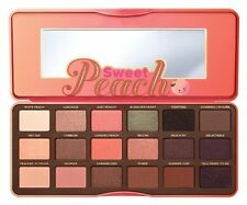 Too Faced Sweet Peach Eye Shadow Collection Palette 18 Colors Eyeshadow Makeup V