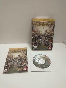 Sid Meier's / Civilization IV /   (PC, 2005) Computer Game