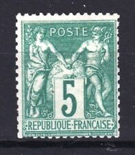 "FRANCE STAMP TIMBRE N° 64 "" TYPE SAGE 5 c VERT 1876 "" NEUF xx TB A VOIR  R740"