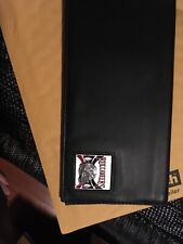 Tampa Bay Buccaneers glove Leather Checkbook  NEW  Black