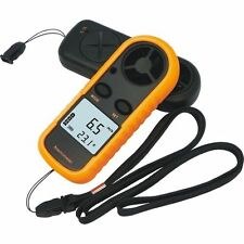 ANEMOMETER WIND THERMOMETER PORTABLE CALCULATION LCD DISPLAY ACCURATE WIND E