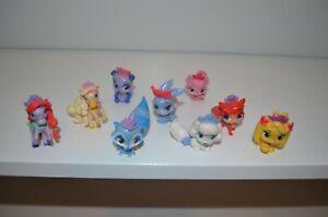 Disney Princess Palace Pets Lot 9 Mini Figures