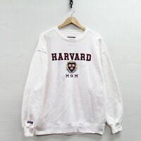Harvard University Crimson Mom JanSport Sweatshirt Crewneck Size Large NCAA