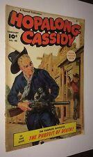 HOPALONG CASSIDY #40 -- February 1950 -- Fawcett -- G Or Better