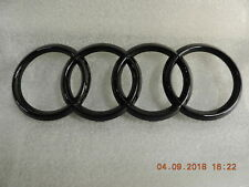 Originale Audi A3 A4 A5 A6 A7 Stemma Anello Segni IN Griglia Radiatore Nero Toni