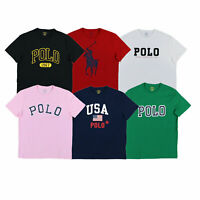 Polo Ralph Lauren Mens Graphic T-Shirt Short Sleeve Crew Neck Tee Prl New Nwt