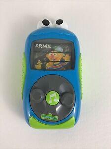 Sesame Street Cookie Monster MP3 Player Toy Songs Big Bird Elmo Ernie Playskool