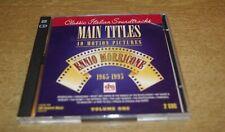 Ennio Morricone main titles  40 motion pictures vol1 classic italian soundtracks
