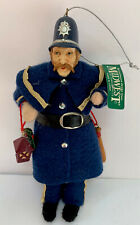 Heart Felts Midwest Of Cannon Falls Police English Bobby 6 3/4� Ornament