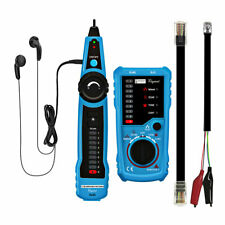 Telephone Wire Tracker Tracer Toner Ethernet Lan Network Cable Tester Detector