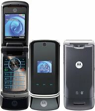 NICE FLIP MOTOROLA KRZR K1 UNLOCKED GSM MOBILE CELL PHONE FIDO ROGERS CHATR CUBA