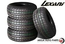 4 X New Lexani LXST-105 ST235/85R16 123S E Load 10 Ply Radial Trailer Tires