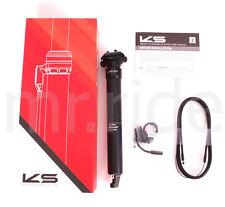 Kind Shock KS LEV SI Dropper Seatpost 31.6x395,Travel:125 W/Remote lockout Black