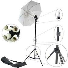 600W Kit JDD8 4en1 Estudio Fotográfico Soporte Y 4 Bombillas E27