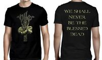 NILE cd cvr THE BLESSED DEAD Official SHIRT 2XL New in their darkened shrines