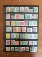 Austria Stamp Collection - Many Classics - Used Stamps - 4 Scans - Q73
