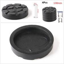 4 Pcs Round 130mm Diameter Black Rubber Arms Lift Pads Accessories For Car Hoist