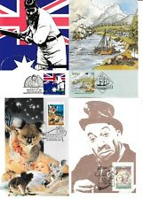 Australian Maxim Cards Mint and FDC