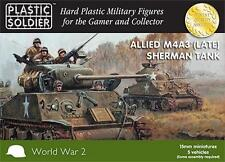 The Plastic Soldier Company 15mm Sherman M4A3 (Late) Tank WW2V15014