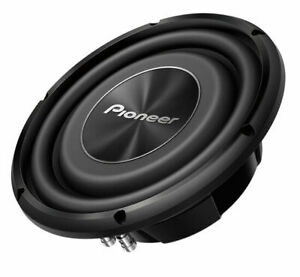 """Pioneer TS-A3000LS4 A Series 12"""" Shallow-Mount Subwoofer 4 ohm Car Subwoofer"""