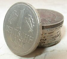 9 Monete da 1 Mark Rep. federale di Germania vari anni dal '58 al '73 - n 1047