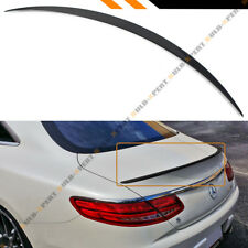 FOR 2015-18 MERCEDES BENZ S550 S63 S65 2DR COUPE CARBON FIBER TRUNK SPOILER WING