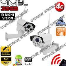 Home Security Camera 4G PTZ Wireless Construction Farm Holiday House 3G DIY GSM